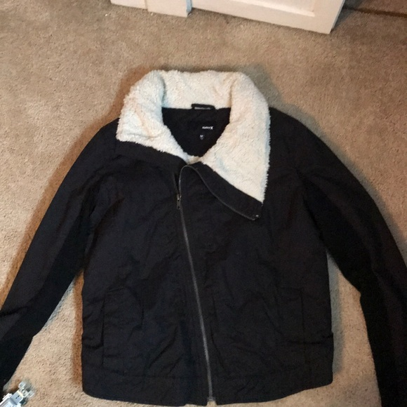 new images of good out x where to buy Hurley Jackets & Coats   Black Jacket   Poshmark